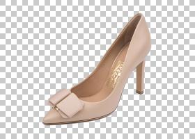 鞋棕色,鞋类,高跟鞋,碱性泵,米色,棕色,黑色,塞尔瓦托・菲拉格慕,
