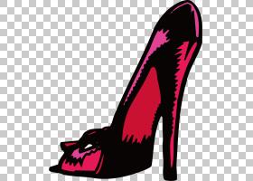 红色背景,高跟鞋,洋红色,鞋类,粉红色,红色,礼服鞋,番茄鞋,脚锁,
