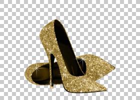 生日金色,高跟鞋,鞋类,户外鞋,女人,礼物,生日,庭院鞋,细高跟鞋,
