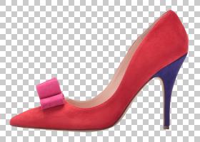 女性卡通,高跟鞋,洋红色,碱性泵,红色,桃子,女人,精品店,鞋类,鞋