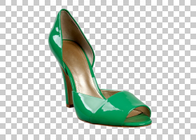 女性卡通,高跟鞋,碱性泵,新娘鞋,AQUA,手提包,女人,时尚,鞋类,绿