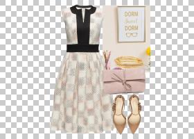 白色的一天,服装设计,日间连衣裙,桃子,白色,着装规范,无袖衬衫,