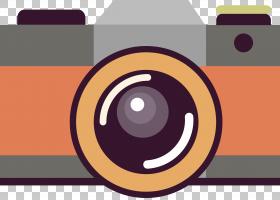 相机徽标,圆,线路,徽标,橙色,角度,动画片,摄像机,摄影胶片,