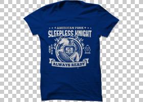 篮球标志,电蓝,顶部,徽标,外衣,现役衬衫,袖子,蓝色,T恤,北卡罗来