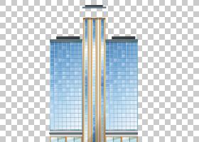 建筑卡通,结构,采光,线路,高程,对称性,角度,正方形,蓝色,建筑设