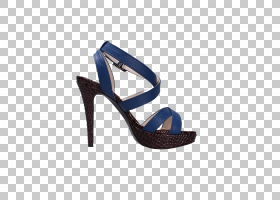 图像编辑蓝色,鞋子,高跟鞋,鞋类,户外鞋,电蓝,凉鞋,蓝色,修剪,剪