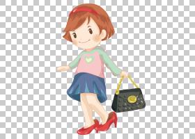 少女卡通,风格,小雕像,棕色头发,播放,玩具,埃斯帕德里耶,袜子,洋