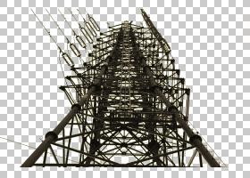 建筑卡通,黑白相间,图案,对称性,电力供应,结构,管道,电压,塔楼,