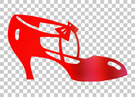 彩色背景,庭院鞋,胭脂红,碱性泵,高跟鞋,鞋类,颜色,红色,服装,鞋