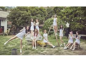 音乐,莫莫兰,妇女,朝鲜人,歌手,亚洲的,白色,穿衣,花园,K-Pop,女