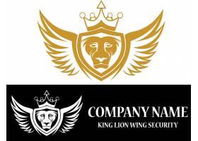 狮子盾牌主题LOGO设计
