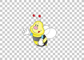 蜜蜂卡通,传粉者,昆虫,线路,笑脸,面积,瓢虫,黄色,视频,动画片,理