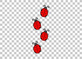 鸟类线画,昆虫,面积,线路,瓢虫,红色,伯德夫人,点,绘图,瓢虫,甲虫