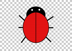 鸟类线画,红色,线路,圆,符号,面积,点,伯德夫人,绘图,动画片,七星