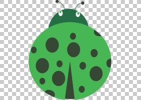 动物卡通,昆虫,动物,真正的臭虫,绿盾虫,绿色,瓢虫,甲虫,