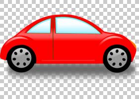 城市卡通,大众新款甲壳虫,红色,车门,城市汽车,技术,车辆,黄色,模