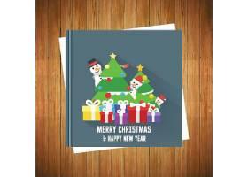 圣诞快乐圣诞节装饰标签设计