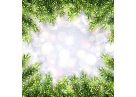 冬季新年快乐圣诞节平安夜主题装饰背景标签设计