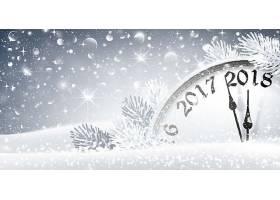 冬季雪白圣诞节平安夜主题节日气氛装饰banner背景