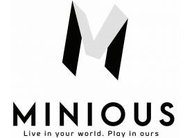 单色字母M品牌LOGO设计