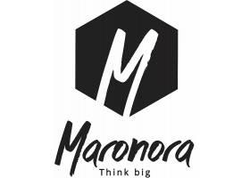 个性字母M单色商标品牌LOGO设计