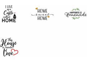 个性艺术英文字体爱情主题标签设计