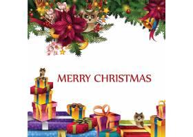 圣诞节平安夜主题节日气氛装饰banner背景