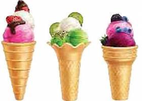 个性创意美味冰淇淋雪球元素素材