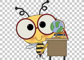 蜜蜂背景,线路,黄色,眼镜,大黄蜂,教室,面积,科学,形状,蜜蜂,教育图片