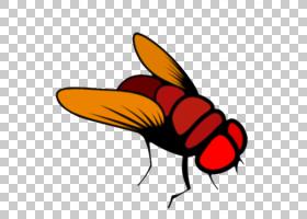 卡通蜜蜂,害虫,喙,传粉者,机翼,昆虫,视觉感知,叉子,计算机软件,