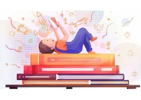 童心童趣儿童节主题手绘插画海报背景设计