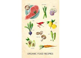 各种蔬果海报