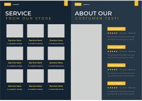 创意商务简约风Matic经销商提案设计模板