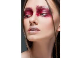 女性眼妆艺术照