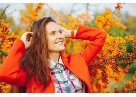 秋季时尚气质美女