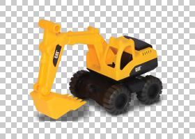 毛毛虫卡通,机器,建筑设备,黄色,反铲,玩具店,推土机,连续轨道,装