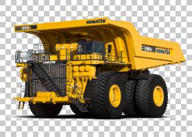 毛毛虫卡通,机器,建筑设备,黄色,我的,施工,装载机,车辆,挖掘机,