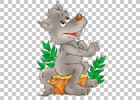 婴儿背景,动画片,尾巴,猫,树,种,有趣的动物,小狼宝宝,灰太狼,