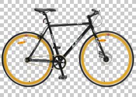 背景黄框,自行车车把,车辆,骑自行车,自行车叉子,线路,山地自行车