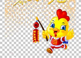 春节美食卡通,幸福,黄色,种,材料,食物,花,节日,中国的十二生肖,