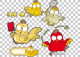 春节美食卡通,线路,黄色,食物,猪,狗,马,公牛,猴子,动画片,蛇,剪
