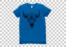 蓝色T恤,现役衬衫,绿松石,T恤衫,顶部,蓝色,电蓝,青色,AQUA,泽西