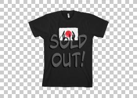 T恤T恤,顶部,袖子,黑色,白色,红色,T恤衫,小巨人队,弗雷迪・墨丘