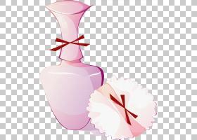 粉花卡通,饮品,花瓶,花瓣,鲜花,粉红色,Mac化妆品,刷子,剥离,头发