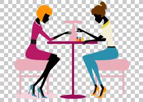 指甲站立,线路,对话,沟通,公共关系,坐着,关节,站着,美丽,化妆品,图片