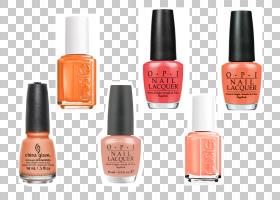 夏日色彩,钉子,指甲护理,化妆品,橙色,色板组,颜色,夏天,弹簧,样
