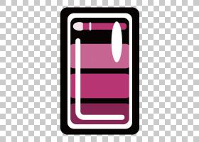 卡通电话,矩形,线路,手机配件,洋红色,移动电话,通信设备,电话技