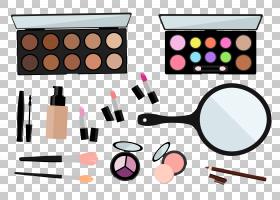 化妆刷,健康美容,美丽,面粉,眼睛,基础,指甲油,眼影,化妆师,绘图,