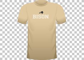 萨利什・库特奈学院角度,米色,现役衬衫,黄色,T恤衫,顶部,脖子,角