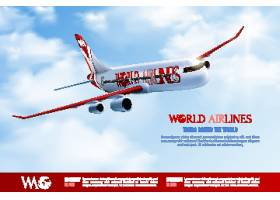高档创意飞机海报设计素材线上网页设计